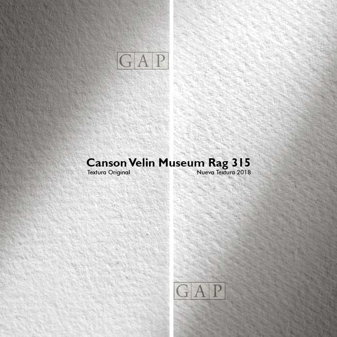 Canson Velin Museum Rag 315 ©GraficArtPrints, impresión fine art giclée