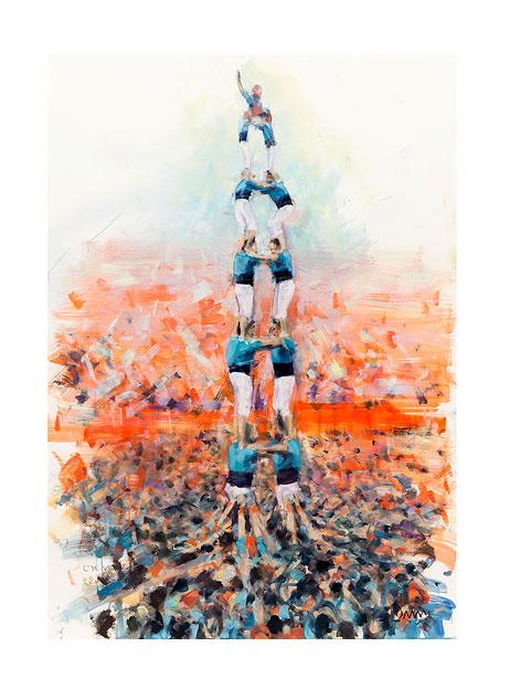 CASTELLERS DE VILAFRANCA © David del Hierro