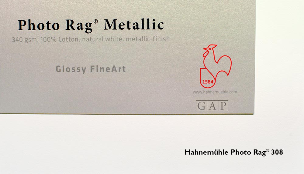 Hahnemühle Photo Rag Metallic 308 ©GraficArtPrints, impressió fine art giclée