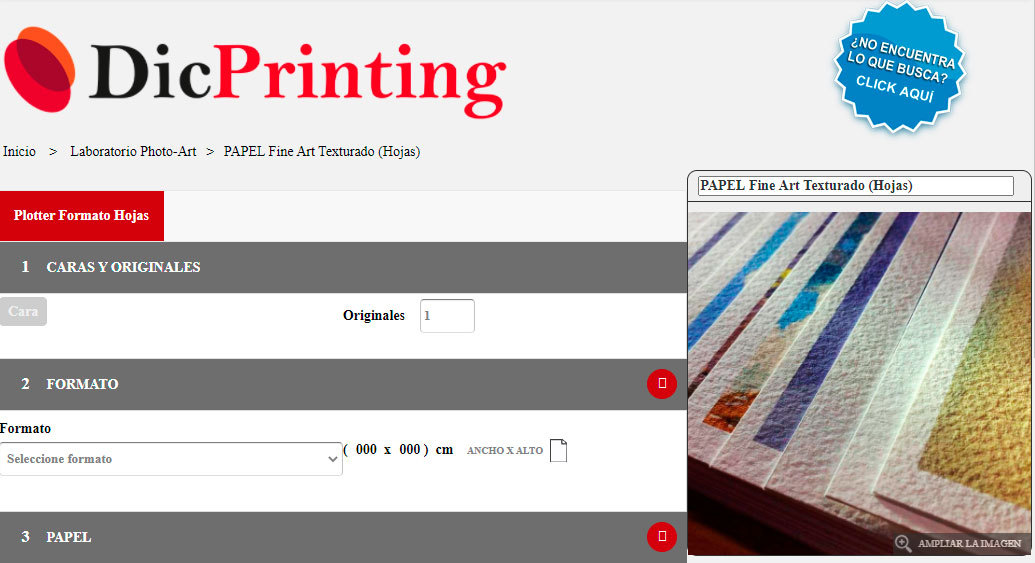 DicPrinting does not respect copyrights