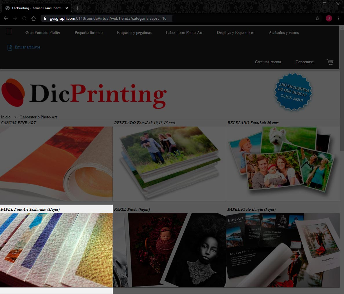 DicPrinting no respeta los derechos de autor