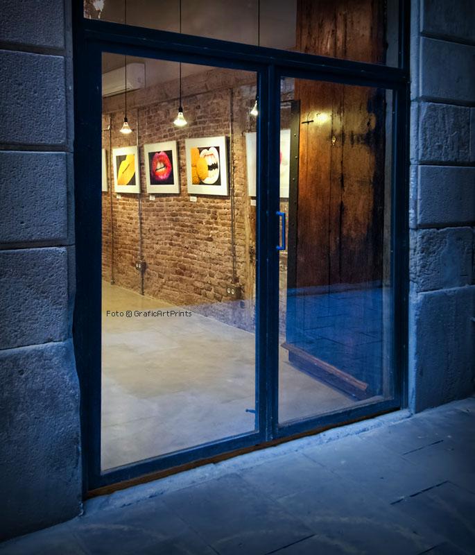Dolores Ruiz exhibit in BBseis Barcelona