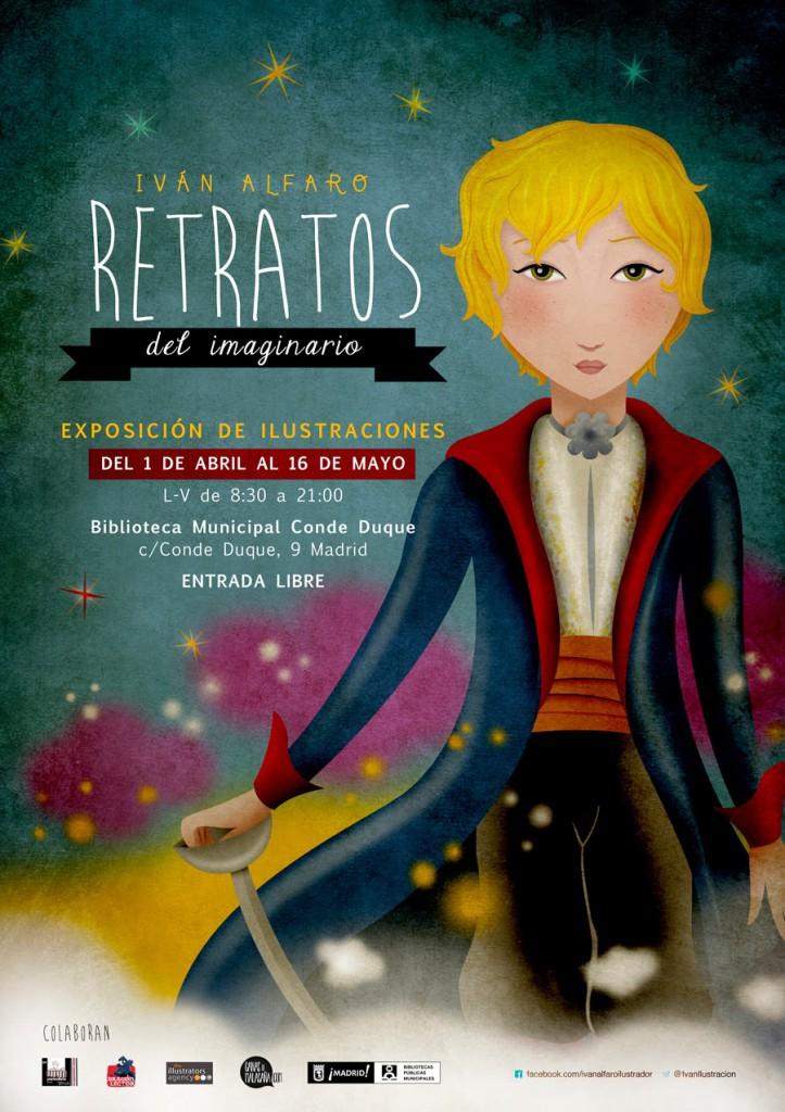 Ivan Alfaro presents a magnificent exhibition of his illustrations of stories