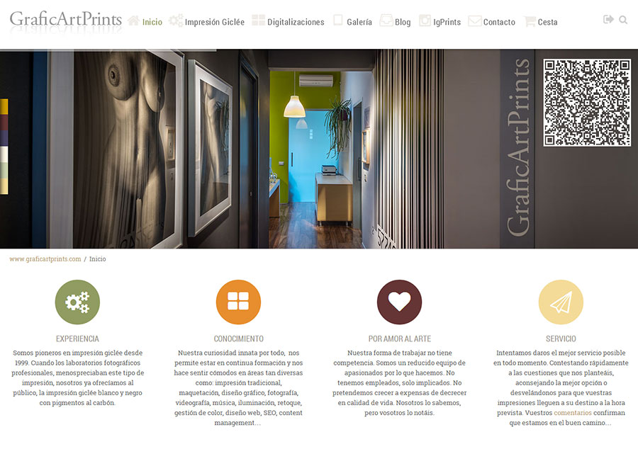New Website GraficArtPrints 2014