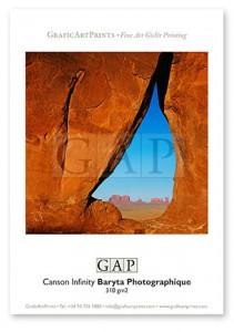 Muestra fotografía impresa en giclée sobre papel Canson Infinity Baryta Photographique por GraficArtPrints. © Jesús Coll