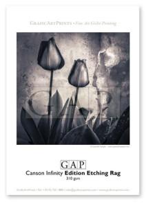 Muestra fotografía impresa en giclée sobre papel Canson Infinity Edition Etching Rag por GraficArtPrints. © Queralt Sunyer