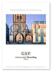 Muestra papel Hahnemühle Photo Rag impresa en giclée por GraficArtPrints © Santi Estrany