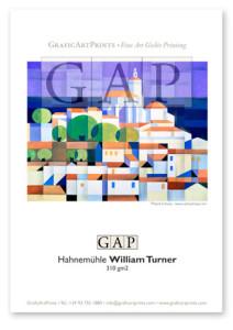 Muestra papel Hahnemühle William Turner impresa en giclée por GraficArtPrints © Santi Estrany