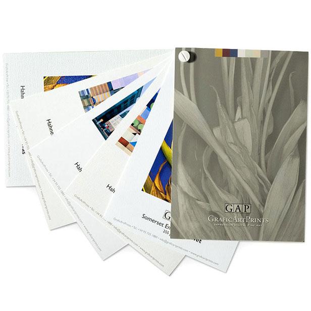 Muestrario Giclée Fineart GraficArtPrints