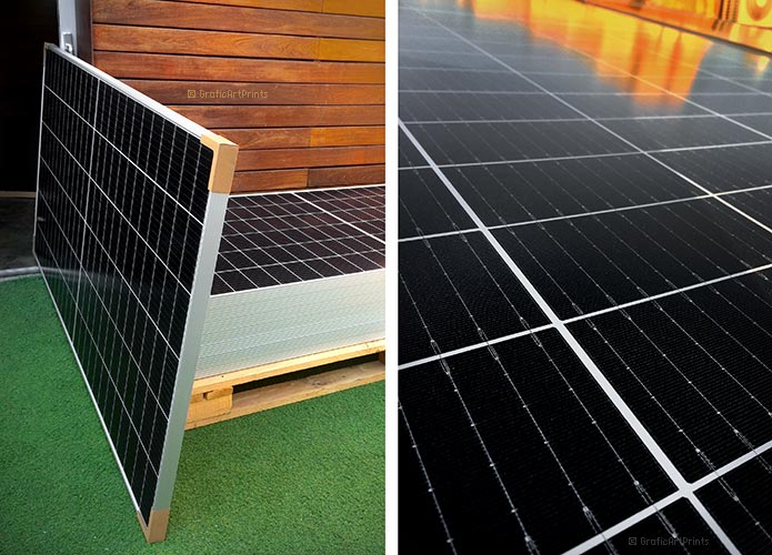 A GAP imprimim les vostres obres amb energia solar 100% renovable